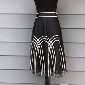 Ann Taylor Loft Mesh Skirt